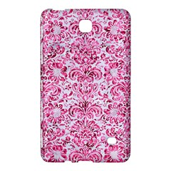 Damask2 White Marble & Pink Marble (r) Samsung Galaxy Tab 4 (8 ) Hardshell Case  by trendistuff
