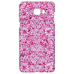 Damask2 White Marble & Pink Marble Samsung C9 Pro Hardshell Case  by trendistuff