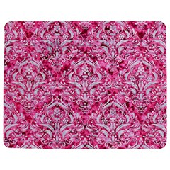 Damask1 White Marble & Pink Marble Jigsaw Puzzle Photo Stand (rectangular)