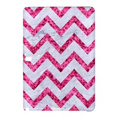 Chevron9 White Marble & Pink Marble (r) Samsung Galaxy Tab Pro 12 2 Hardshell Case