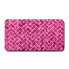 Brick2 White Marble & Pink Marble Medium Bar Mats by trendistuff