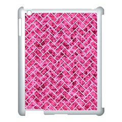 Brick2 White Marble & Pink Marble Apple Ipad 3/4 Case (white)