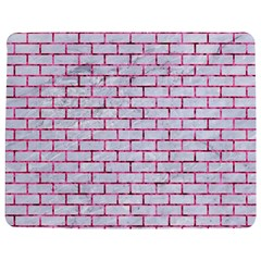 Brick1 White Marble & Pink Marble (r) Jigsaw Puzzle Photo Stand (rectangular)
