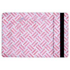 Woven2 White Marble & Pink Watercolor (r) Ipad Air 2 Flip
