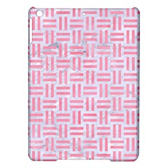 Woven1 White Marble & Pink Watercolor (r) Ipad Air Hardshell Cases