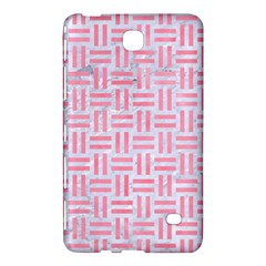 Woven1 White Marble & Pink Watercolor (r) Samsung Galaxy Tab 4 (8 ) Hardshell Case