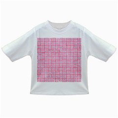 Woven1 White Marble & Pink Watercolor Infant/toddler T Shirts