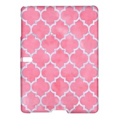 Tile1 White Marble & Pink Watercolor Samsung Galaxy Tab S (10 5 ) Hardshell Case
