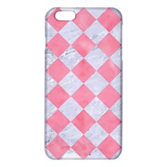 Square2 White Marble & Pink Watercolor Iphone 6 Plus/6s Plus Tpu Case