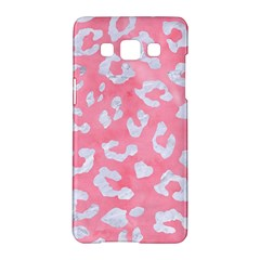 Skin5 White Marble & Pink Watercolor (r) Samsung Galaxy A5 Hardshell Case