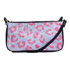 Skin5 White Marble & Pink Watercolor Shoulder Clutch Bags
