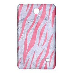 Skin3 White Marble & Pink Watercolor (r) Samsung Galaxy Tab 4 (8 ) Hardshell Case  by trendistuff