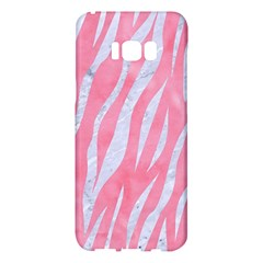 Skin3 White Marble & Pink Watercolor Samsung Galaxy S8 Plus Hardshell Case