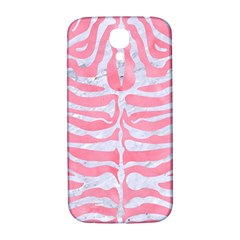 Skin2 White Marble & Pink Watercolor Samsung Galaxy S4 I9500/i9505  Hardshell Back Case by trendistuff