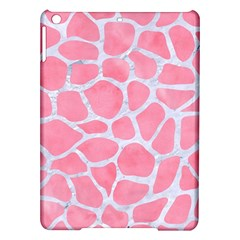 Skin1 White Marble & Pink Watercolor (r) Ipad Air Hardshell Cases