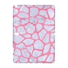 Skin1 White Marble & Pink Watercolor Galaxy Note 1