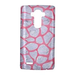 Skin1 White Marble & Pink Watercolor Lg G4 Hardshell Case by trendistuff