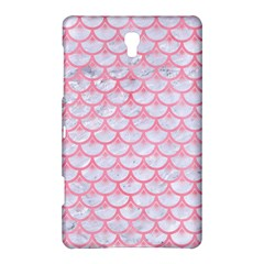 Scales3 White Marble & Pink Watercolor (r) Samsung Galaxy Tab S (8 4 ) Hardshell Case
