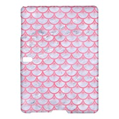 Scales3 White Marble & Pink Watercolor (r) Samsung Galaxy Tab S (10 5 ) Hardshell Case  by trendistuff