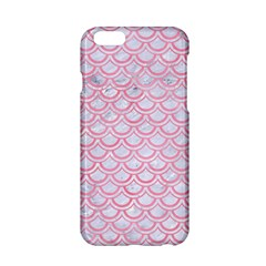 Scales2 White Marble & Pink Watercolor (r) Apple Iphone 6/6s Hardshell Case