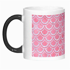 Scales2 White Marble & Pink Watercolor Morph Mugs by trendistuff