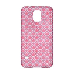 Scales2 White Marble & Pink Watercolor Samsung Galaxy S5 Hardshell Case  by trendistuff