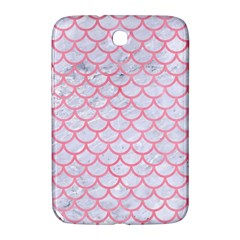 Scales1 White Marble & Pink Watercolor (r) Samsung Galaxy Note 8 0 N5100 Hardshell Case