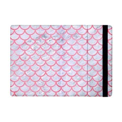 Scales1 White Marble & Pink Watercolor (r) Ipad Mini 2 Flip Cases by trendistuff