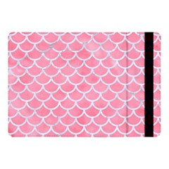 Scales1 White Marble & Pink Watercolor Apple Ipad Pro 10 5   Flip Case