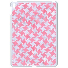 Houndstooth2 White Marble & Pink Watercolor Apple Ipad Pro 9 7   White Seamless Case