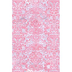 Damask2 White Marble & Pink Watercolor (r) 5 5  X 8 5  Notebooks