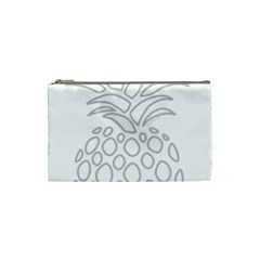 Pinapplesilvergray Cosmetic Bag (small)