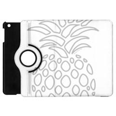 Pinapplesilvergray Apple Ipad Mini Flip 360 Case