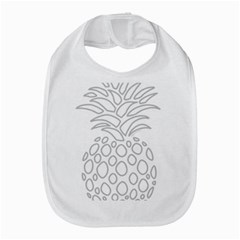 Pinapplesilvergray Bib