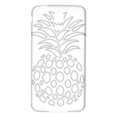 Pinapplesilvergray Samsung Galaxy S5 Back Case (white)