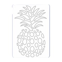 Pinapplesilvergray Apple Ipad Pro 10 5   Hardshell Case by BohoRainbow