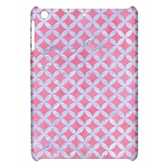 Circles3 White Marble & Pink Watercolor Apple Ipad Mini Hardshell Case by trendistuff