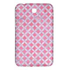 Circles3 White Marble & Pink Watercolor Samsung Galaxy Tab 3 (7 ) P3200 Hardshell Case