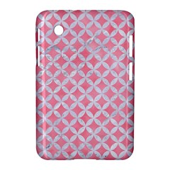 Circles3 White Marble & Pink Watercolor Samsung Galaxy Tab 2 (7 ) P3100 Hardshell Case