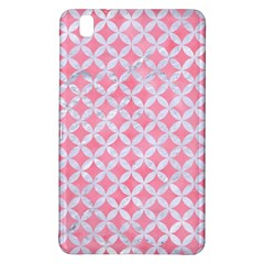 Circles3 White Marble & Pink Watercolor Samsung Galaxy Tab Pro 8 4 Hardshell Case
