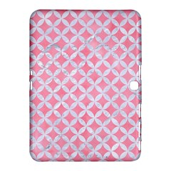 Circles3 White Marble & Pink Watercolor Samsung Galaxy Tab 4 (10 1 ) Hardshell Case