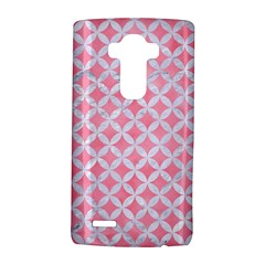Circles3 White Marble & Pink Watercolor Lg G4 Hardshell Case by trendistuff