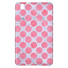 Circles2 White Marble & Pink Watercolor (r) Samsung Galaxy Tab Pro 8 4 Hardshell Case