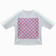 Circles2 White Marble & Pink Watercolor Infant/toddler T Shirts
