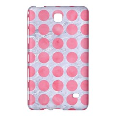 Circles1 White Marble & Pink Watercolor (r) Samsung Galaxy Tab 4 (7 ) Hardshell Case