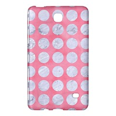 Circles1 White Marble & Pink Watercolor Samsung Galaxy Tab 4 (7 ) Hardshell Case
