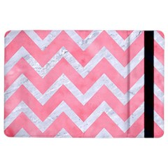 Chevron9 White Marble & Pink Watercolor Ipad Air 2 Flip