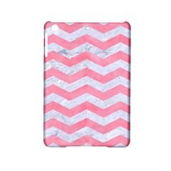 Chevron3 White Marble & Pink Watercolor Ipad Mini 2 Hardshell Cases
