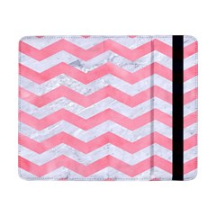 Chevron3 White Marble & Pink Watercolor Samsung Galaxy Tab Pro 8 4  Flip Case