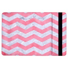 Chevron3 White Marble & Pink Watercolor Ipad Air 2 Flip by trendistuff